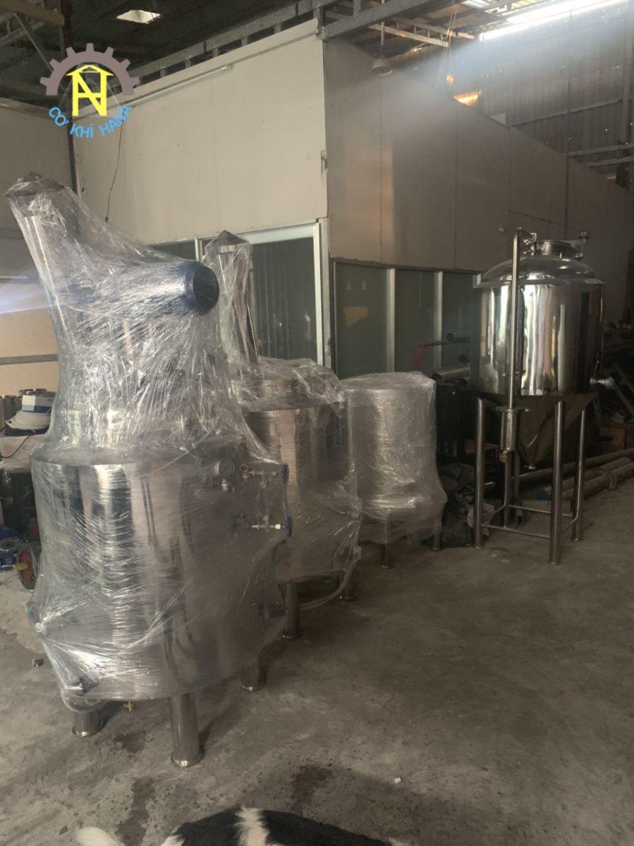 Sản xuất gia công hệ thống lên men Bia